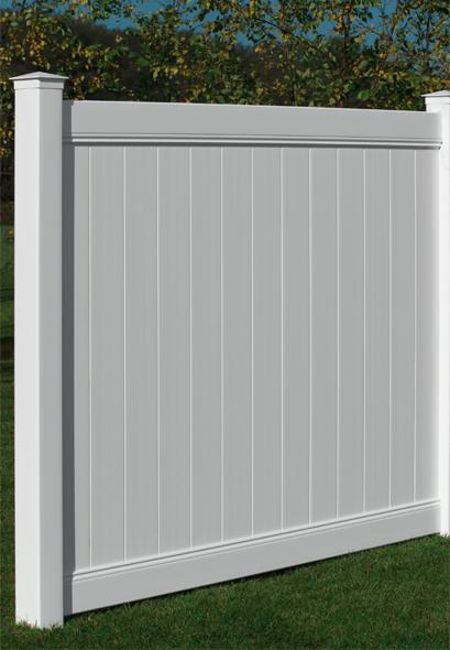 Polyvinyl Fence