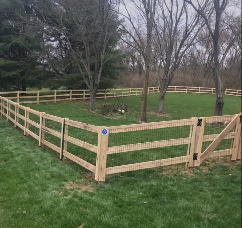 KY 3 Board Fence Cincinnati