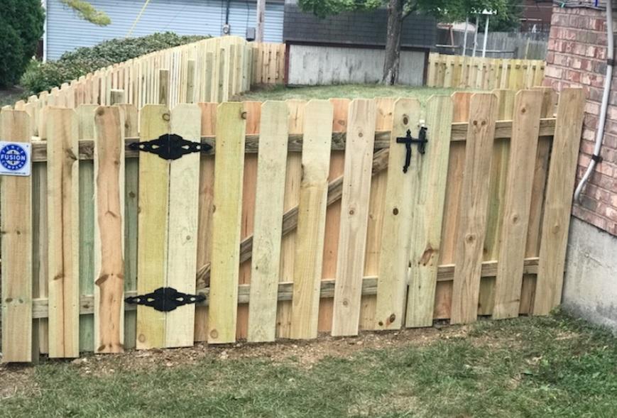 Shadowbox Fence Houston